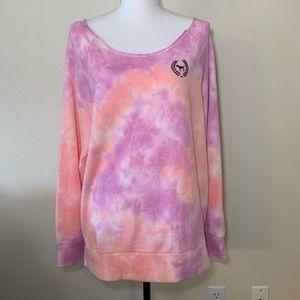 50% OFF Victoria's Secret Pink sweatshirt tiedye